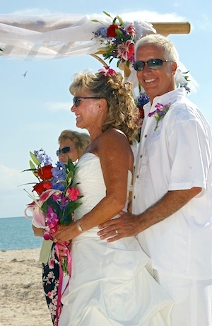 Schaefer and wife Kathryn were married in 2010 on Sombrero Beach in Marathon.