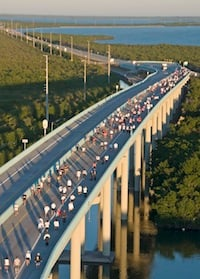 Runners to Chart Scenic Course During Key Largo Bridge Run Nov. 8. Click for Details.