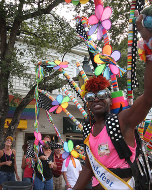 "The celebration also offers visitors a chance to experience Key West's ""One Human Family"" atmosphere of inclusion and recognition that all people are created equal."