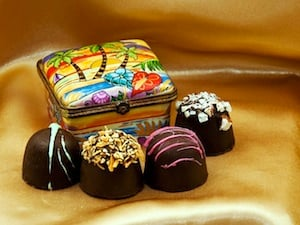 Key Largo Chocolates is a chocolate shop and factory, with truffles that are all handmade with the finest Belgian Chocolates and natural flavors.