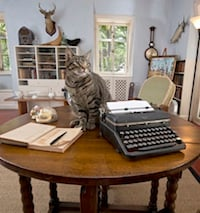 Fiction Contest Winner Can Write in Hemingway's Key West Studio. Click for details.