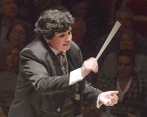 Nationally recognized conductor Sebrina Maria Alfonso leads the symphony, which is composed of eminent professional musicians from around the United States.