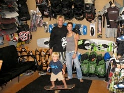 Otherside Boardsports has both quadrupled their inventory, as well as increase awareness of the kiteboarding and paddle surfing sports.