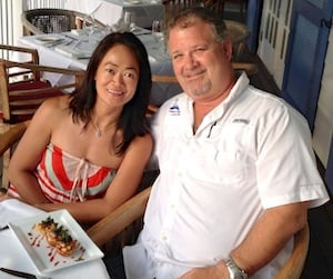 John and Arlene met started their new life together as restaurateurs in 1999.