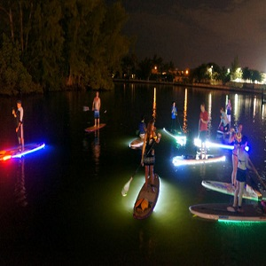 Try illuminated nightboarding
