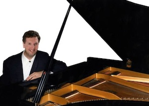 "Pianist Jeffrey Biegel is to perform ""Concerto for Simply Grand Piano and Orchestra"" by P.D.Q. Bach, the fictitious 18th-century alter ego of composer/satirist Peter Schickele."