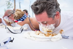 The Key Lime Festival is known for its Mile High Key Lime Pie Eatin' Contest.