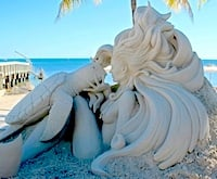 Six Renowned Sand Sculptors to Create and Compete on Key West Beach.  Click for details.
