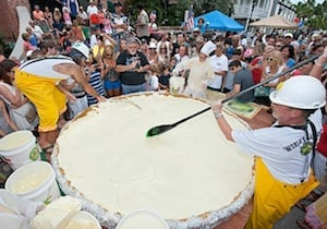 Sloan and fellow creative spirit Marky Pierson staged the reborn Key Lime Festival in Key West in the summer of 2013, spurring the creation of what is believed to be the world's largest Key lime pie.