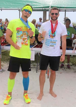 An awards ceremony on the beach follows Saturday's race with a barbecue, drinks and music.
