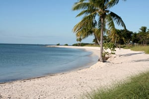 Families can gather for a full day of beachside activities at Sombrero Beach in Marathon.