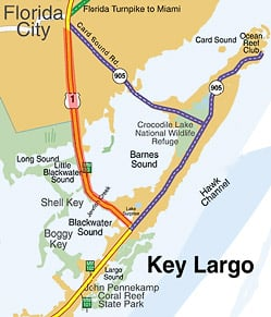 Florida Keys Map With Mile Markers.Repair Project Closes Northbound Lane Of U S 1 Between Key