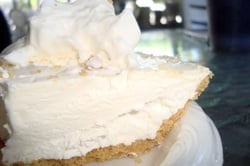 A local legend, Key lime pie at Alabama Jack's.