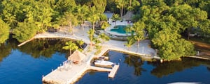 Largo Resort is a private sanctuary with accommodations.