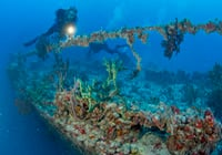 New Spiegel Grove shipwreck exhibit on display at History of Diving Museum through Sept. 4, 2017.
