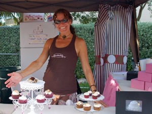 "As a fun pasttime, Zirkelbach also baked ""Sweet Bette"" cupcakes and  cakes, which she now squeezes in for friends' special occasions."